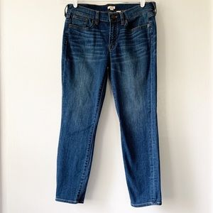 J. Crew Factory Stretch Crop Blue Jeans Size 28